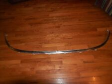 NICE ORIGINAL 1963-64 FORD GALAXIE CONVERTIBLE WINDSHIELD LOWER TRIM MOLDING