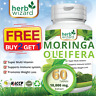 60  Moringa Oleifera Organic Leaf Extract 10,000mg Serving 100% Pure Tablets