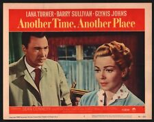ANOTHER TIME ANOTHER PLACE Lobby Card Set Of 8 (Fine) 1958 Lana Turner 15456