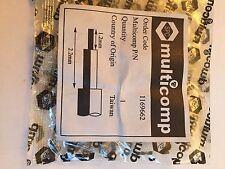 Multicomp 37-02V-2-TGG RF/Conector Coaxial, Mmcx coaxial, Right Angle Plug,