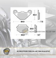 FANTIC MOTOR CABALLERO MOTARD 125 DAL 2007 AL 2009 PASTIGLIE FRENO POSTERIORI BR
