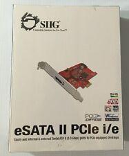 SIIG eSATA II PCIe i/e
