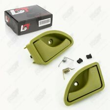 2x Door Handle Opener Interior Grips Set Olive Vl VR for Renault Twingo I 1