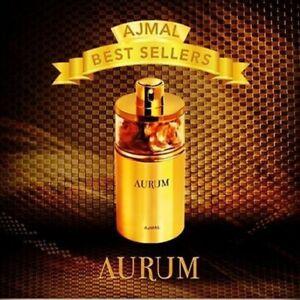 Aurum Edp Fragrance Spray for her 75ml by Ajmal (UAE) -   100% Genuine