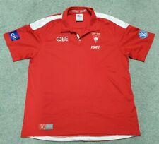 Sydney Swans Authentic ISC AFL Polo Shirt Men's 3XL