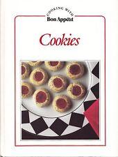 COOKING WITH BON APPETIT COOKIES VINTAGE 1987 COOKBOOK CHIMNEYSWEEPS, HONEY BEES