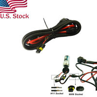 H3 H4 H7 H11 H8 9005 9006 HID Conversion Kit Relay Wire Harness Adapter Wiring