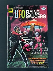 UFO FLYING SAUCERS #12 WHITMAN COMICS 1976 FN/VF