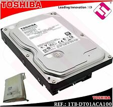 "Toshiba DT01ACA100 1 TB 7,200 rpm SATA III 3.5"""