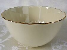 Lenox Ivory China Floral Embossed Special Bowl