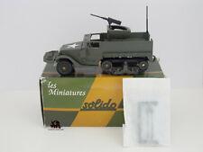 Miniature Collection Métal Tank SOLIDO Half Track M3 Mitrailleuse US