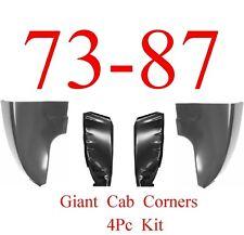 73 87 Chevy 4Pc Giant Cab Corner & Inner Cab Kit, GMC Truck, Corners, New In Box