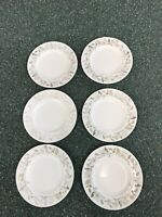 "Vintage 6 Wedgewood 8"" Inch Beaconsfield Pattern Salad Plates England China Lot"