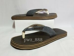 HOGAN Men's Flip Flops Size 41