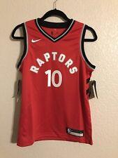Toronto Raptors Demar Derozan Swingman basketball jersey youth size medium red