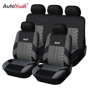 Ford Fiesta Focus Kuga Ku Ecosport Fusion Car seat Covers Full Front Rear Set
