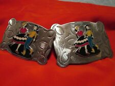 Belt Buckle Set (His and Hers Square Dance )