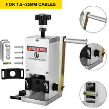 Manual Wire Stripping Machine Copper Cable Peeling Stripper With Drill Connector