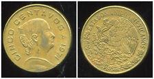 MEXIQUE  5 centavos 1971  ( bis )