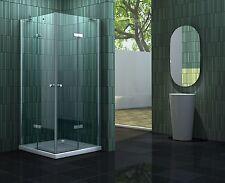 NEOTEC 90 x 75 + Duschtasse Glas Duschkabine Eckeinstieg Dusche Duschabtrennung