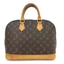 100% Authentic Louis Vuitton Monogram Alma Tote Hand Bag Purse /40670