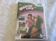 New Sealed 2009 Nintendo Wii Horse Life Adventures Video Game Disc Complete