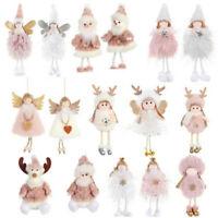 Happy New Year Christmas Ornaments Xmas Tree Pendant Dolls Hanging Decorations