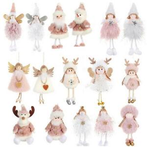 Christmas Santa Xmas Tree Hanging Ornament Doll Decoration For Home Pendant Gift