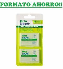 ORTOLACER CERA DE ORTODONCIA FORMATO AHORRO 14 BARRAS 177007  ORTO LACER