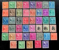US Stamps SC #803-834, 839-851 Presidential Series Plus Coil Full Set CV:$176