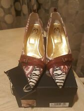 Just Cavalli Designer Shoes High-Heel/Pumps Women's Size 39
