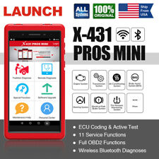 LAUNCH X431 PROS MINI OBD2 Diagnostic Scanner Wifi ScanPad Scan Tool Active Test