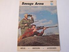 1966 Savage Arms Shotgun Gun Rifle Catalog LOTS More Listed