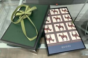 *New* Gucci gift set with writing pad, envelopes and cards