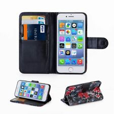 For Apple iPhone X SE 5C 5 6 6s 7 8 Plus Flip Wallet Leather Case Cover Magnetic