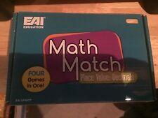 Eai Education Math Match Place Value: Decimals Game Grades 3+