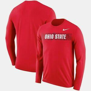 Ohio State Buckeyes Mens Nike Sideline Seismic Legend T-Shirt - XXL - NWT