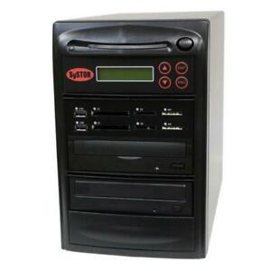 SySTOR 1-1 MultiMedia PLUS - Flash Memory to Disc Backup+DVD Duplicator