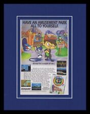 1993 Tiny Toony Adventures 2 NES Framed 11x14 ORIGINAL Vintage Advertisement