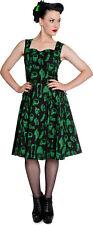 Hell Bunny ANATOMY Lace CORSETTE Dress KLEID - schwarz Rockabilly