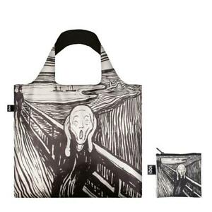 LOQI Tote The Scream Artist Edward Munch Reusable Shopping Travel Foldable Bag