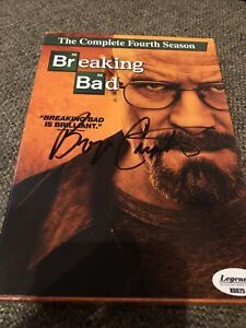 Bryan Cranston Signed Autographed Breaking Bad  DVD season 4 Set -  COA