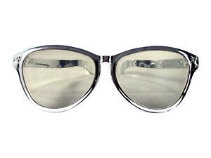Silver Sunglasses Giant Jumbo Over Clown Glasses Novelty Costume Accessory