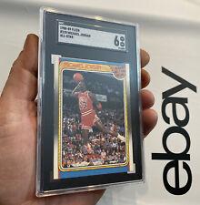 Michael Jordan SGC 6 1988 Fleer All Star ICONIC DUNK SLABBED Man Cave INVESTMENT