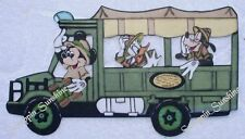 DISNEY KILIMANJARO Safari Bus Animal Kingdom Printed Scrapbook Page Paper Piece