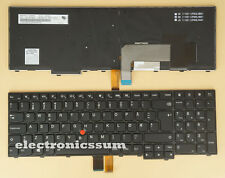 NEW For Lenovo thinkpad W540 W541 W550 W550s Norwegian Norsk Keyboard Backlit