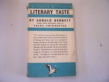 Pelican Special S11 Literary Taste and How To Form It by Arnold Bennett 1938