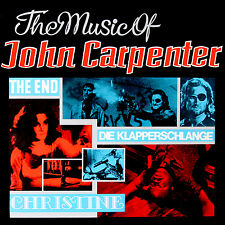 LP Vinyl CD Splash Band The Music Of John Carpenter CD+LP Set