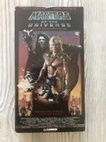 Masters of the Universe VHS Movie Dolph Lundgren Frank Langella