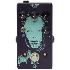 Walrus Audio Julia Analog Chorus Vibrato Lag LFO Wave Shape Guitar Effects Pedal